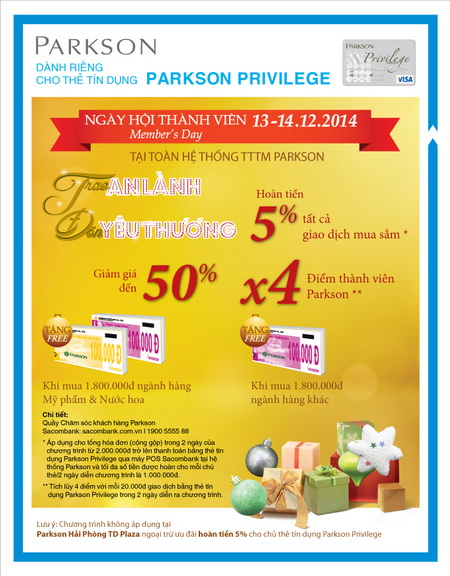 Sacombank-uu-dai-ngay-hoi-thanh-vien-parkson-13-14122014-voi-the-tin-dung-parkson-privilege