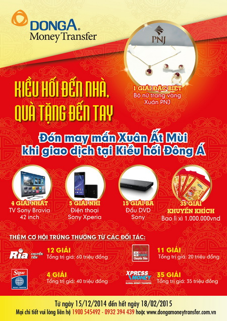 DongA-Bank-don-may-man-xuan-at-mui-voi-kieu-hoi-den-nha-qua-tang-den-tay