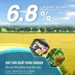 Vay kinh doanh hỗ trợ khu vực đồng bằng sông Cửu Long với lãi suất hấp dẫn từ BIDV