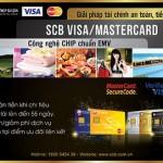 Chi tiêu an toàn hơn với thẻ quốc tế SCB