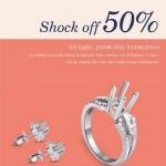 Ưu đãi 50% trang sức kim cương tại Miracle Diamond & Jewelry dành riêng cho chủ thẻ Eximbank