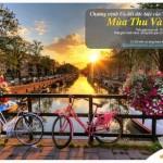 Chương trình Mùa Thu Vàng 2016 dành cho chủ thẻ Eximbank khi mua vé máy bay tại Vietnam Airlines