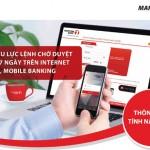 Tính năng mới trên Internet banking dành cho khách hàng doanh nghiệp của Maritime Bank
