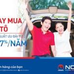 NCB ưu đãi lãi suất 6,7% năm cho khách hàng vay mua ô tô