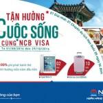 NCB ra mắt thẻ tín dụng quốc tế NCB Visa