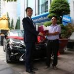 Sacombank trao xe Lexus cho khách hàng trúng giải khuyến mãi Gửi tiền trúng liền