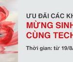 Chương trình ưu đãi các khoản vay cá nhân mừng sinh nhật 23 năm cùng Techcombank