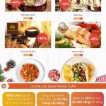 Lễ hội ẩm thực cùng thẻ BIDV từ 24/9/2016 - 31/12/2016