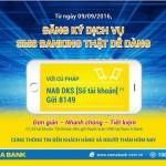 Quản lý ngân hàng dễ dàng với dịch vụ SMS Banking của Nam A Bank