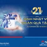 NCB triển khai chương trình khuyến mãi Sinh nhật vui ngàn quà tặng