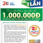 Tặng thêm đến 1 triệu đồng cho chủ thẻ OCB MasterCard mua sắm tại Nguyễn Kim