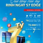 Cùng VietinBank khám phá siêu phẩm Samsung Galaxy S7 Edge