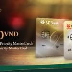 VPBank Gold Club tặng đến 5 triệu đồng với khách hàng mở thẻ tín dụng Priority lần đầu