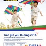 Chương trình khuyến mại chuyển tiền kiều hối WU Trao gửi yêu thương 2016 cùng BIDV