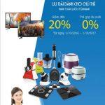 Giảm 20% khi mua hàng hóa tại website www.alo360.vn dành riêng cho thẻ tín dụng Eximbank