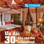 Tận hưởng ưu đãi tại Ana Mandara Villas Dalat Resort & Spa với thẻ Eximbank
