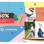 Giảm thêm 20% khi mua sách tại Fahasa.com khi thanh toán thông qua hệ thống 123pay dành riêng cho thẻ Eximbank-MasterCard