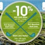 Ưu đãi dành cho khách hàng MB khi chơi golf tại sân FLC Sầm Sơn và FLC Quy Nhơn