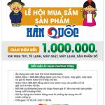Lễ hội mua sắm tại Nguyễn Kim dành cho chủ thẻ OCB MasterCard