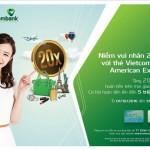 Chương trình Niềm vui nhân 20 lần với thẻ Vietcombank American Express