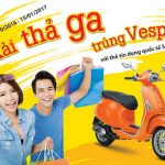 Xài thả ga - Trúng Vespa với thẻ tín dụng quốc tế Sacombank