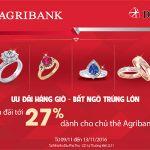 Chương trình khuyến mại Ưu đãi hàng giờ - Bất ngờ trúng lớn dành cho chủ thẻ của Agribank