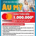 Giảm 1.000.000 đồng khi mua sắm tại Nguyễn Kim với thẻ Eximbank
