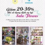Ưu đãi giảm 20-30% khi sử dụng dịch vụ tại Sala Flower