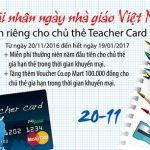 Eximbank ưu đãi nhân ngày Nhà Giáo Việt Nam 20/11