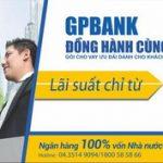 GPBank cho vay 2.000 tỷ đồng với lãi suất chỉ từ 5,99%/năm
