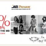 Ưu đãi đặc biệt dành cho khách hàng cá nhân cao cấp của MB trong chương trình Crazy sales tới từ HAL Group