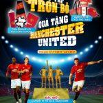 Sưu tập trọn bộ quà tặng Manchester United cùng BIDV
