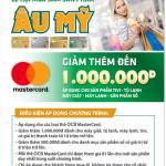 Giảm thêm đến 1 triệu đồng cho chủ thẻ OCB MasterCard tại Nguyễn Kim