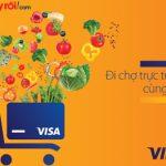 ABBank ưu đãi mua hàng thực phẩm trên Adayroi.com