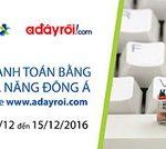 Hoàn tiền 20% khi thanh toán bằng thẻ Đa Năng DongA Bank tại website Adayroi.com