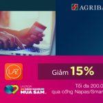 Chương trình ưu đãi Vui Giáng sinh – Rinh hàng giá rẻ dành cho chủ thẻ Agribank