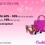 VIP Sale – Ưu đãi lớn cho chủ thẻ Agribank