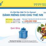 Ưu đãi đặc biệt từ Co-opmart dành riêng cho chủ thẻ IVB