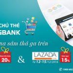 Giảm 20% khi thanh toán bằng thẻ nội địa Kienlongbank tại Lazada & Adayroi