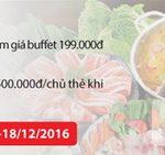 Thỏa sức thưởng thức ẩm thực mùa lễ hội, hoàn tiền 30% với thẻ Quốc tế Maritime Bank khi thanh toán tại King BBQ và Hotpot Story