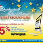 Nhận ngay chiết khấu khủng khi mua mã thẻ điện thoại qua Internet Banking Nam A Bank