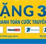 Nam A Bank ưu đãi thanh toán hoá đơn truyền hình qua Payoo