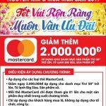 Tết vui rộn ràng muôn vàng ưu đãi cùng thẻ quốc tế Eximbank-MasterCard