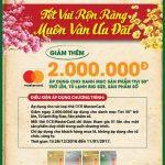 Tết rộn ràng – Muôn vàn ưu đãi dành cho chủ thẻ OCB MasterCard