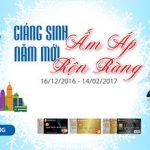 Giáng Sinh ấm áp - Năm mới rộn ràng cùng thẻ SCB