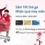 Sắm Tết thả ga, nhận quà may mắn cùng Shinhan Bank Vietnam