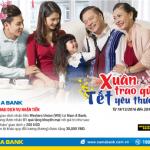 Xuân trao gửi, Tết yêu thương cùng dịch vụ Western Union tại Nam A Bank