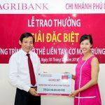 Agribank trao giải đặc biệt chương trình khuyến mại Mở thẻ liền tay - Cơ may trúng lớn