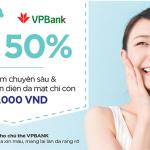 Ưu đãi 50% tại Grace Skincare Clinic với chủ thẻ VPBiz