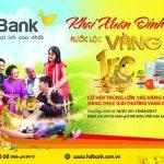 Khai xuân Đinh Dậu - Rước lộc vàng ký cùng HDBank